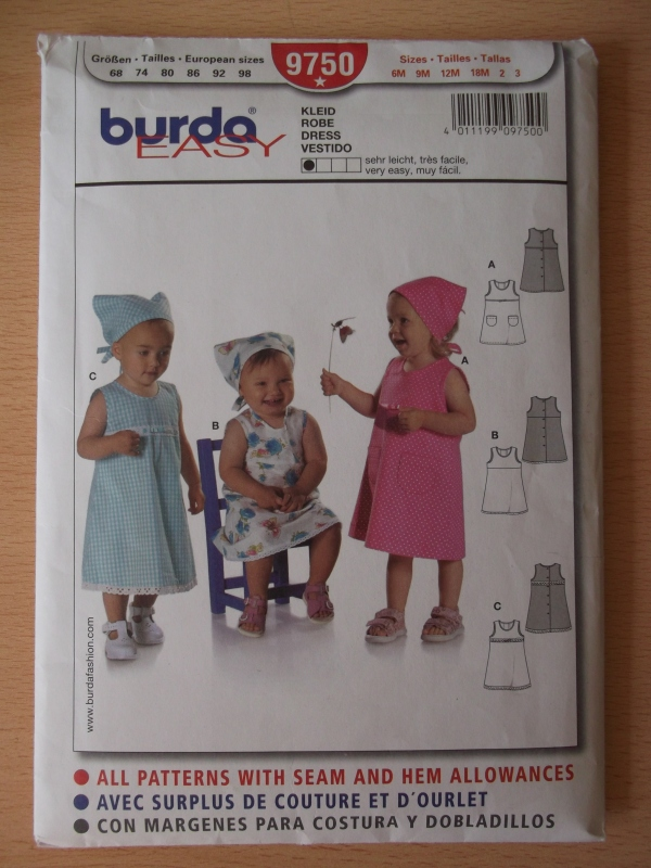 Fancy Burda Baby Nähmustern Composition - Decke Stricken Muster ...