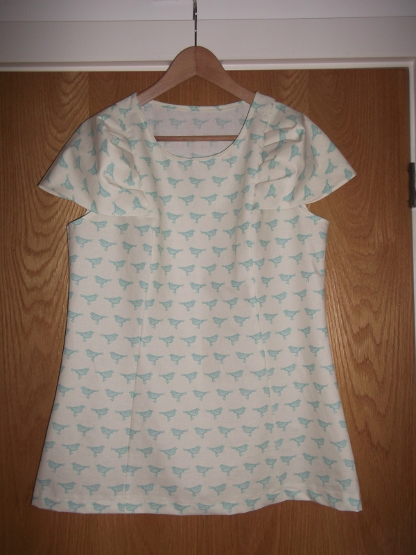 Jan 2012 Sewaholic Pendrell Blouse