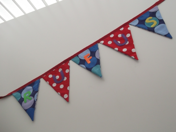 Bunting for Rufus