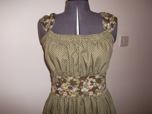 Bodice of the Jamie Dress