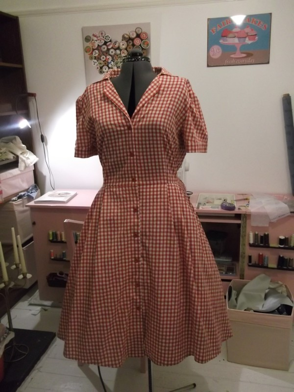 Julia's Gertie Shirtwaist dress
