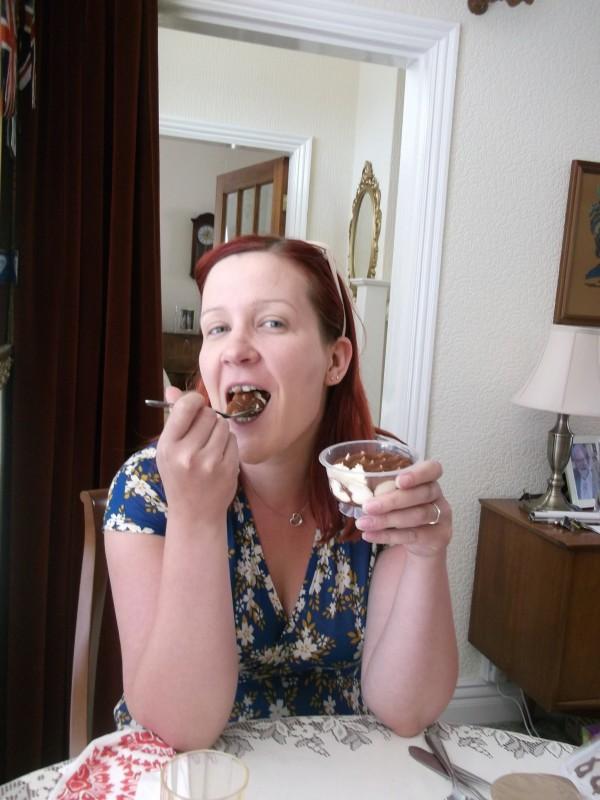 Reason 5: You can EAT Tiramisu and WEAR Tiramisu!  I know, I'm blowing your mind...