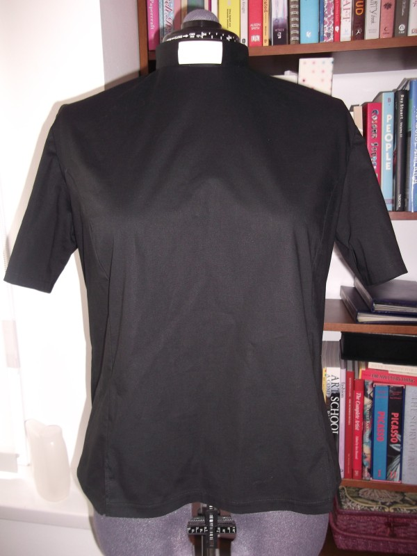 Black clergy shirt/bouse