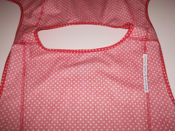 Inside view of Sewaholic Pendrell blouse