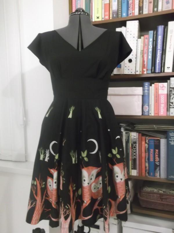 The Anna Owl dress