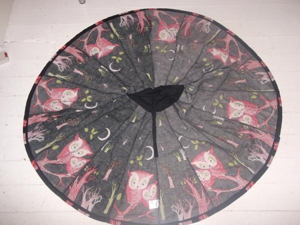 Ruby Belle panelled circle skirt