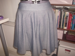 Megan Nielsen Tania Culottes in Chambray