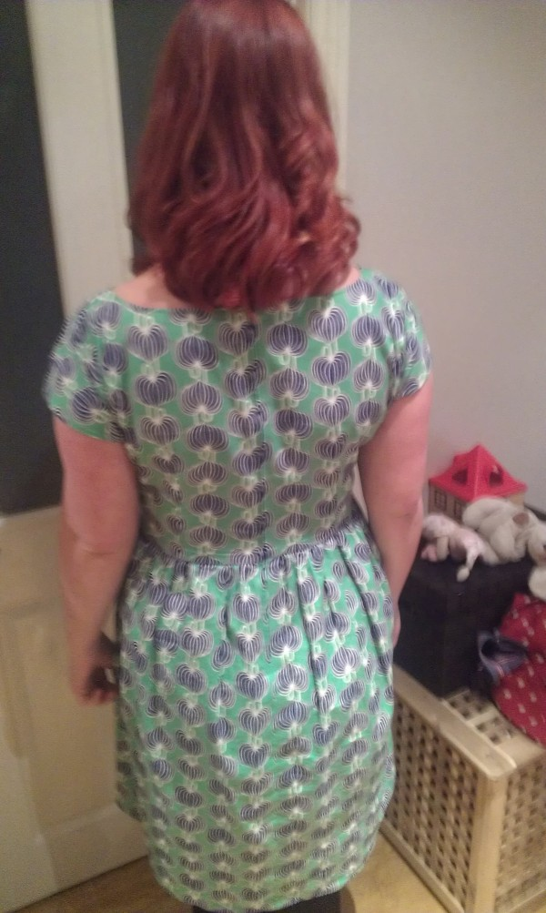 Back view - slightly blurry - sorry!
