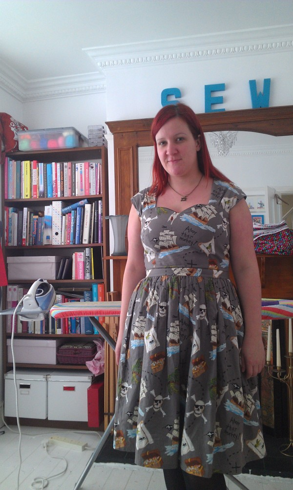 The finished dress!