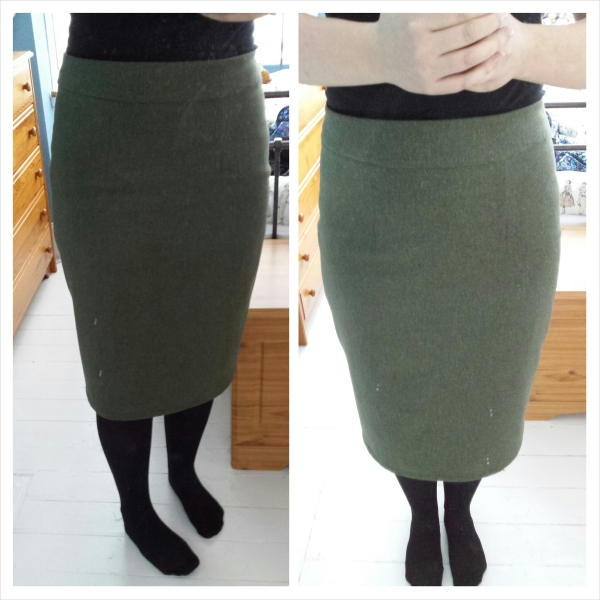 Skirt - front view