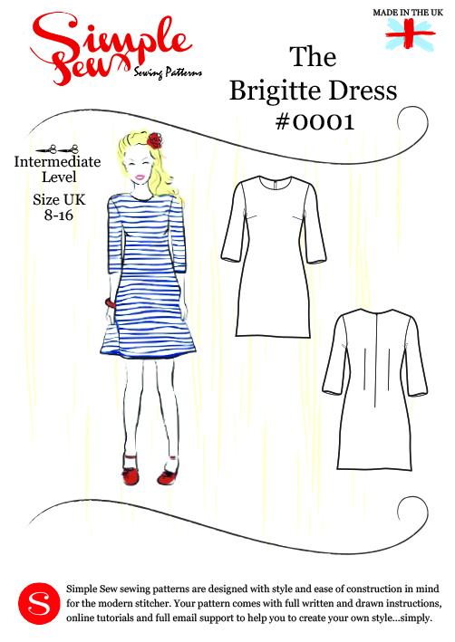 Love Sewing Magazine: Simple Sew Brigitte dress Sewalong | Thread ...