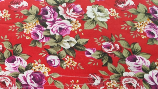 Sneak peek at the cotton fabric I am using