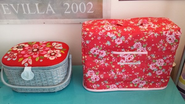 It looks just right next to my Cath Kidston sewing box