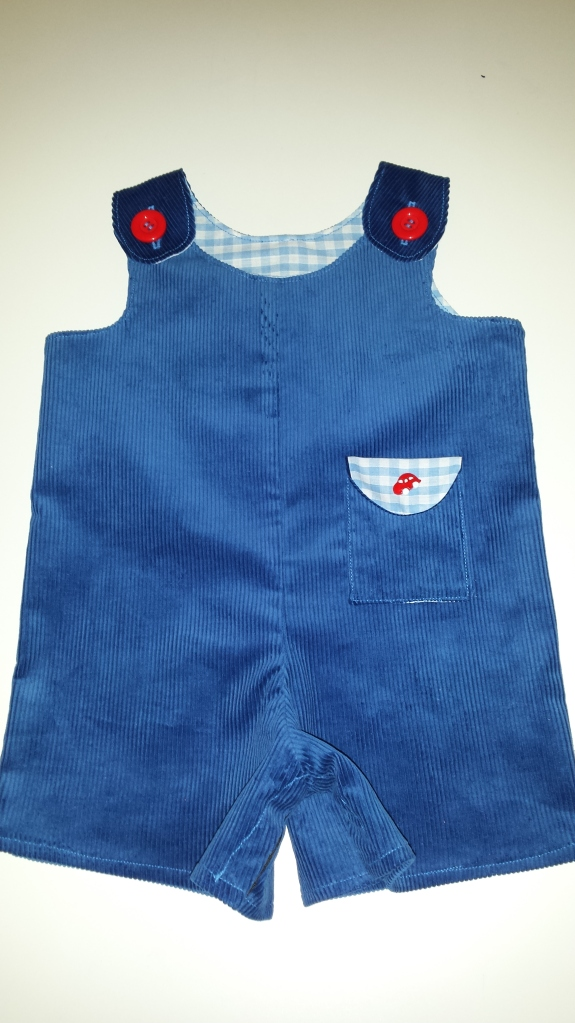 Little Dress Kits Car Dungarees
