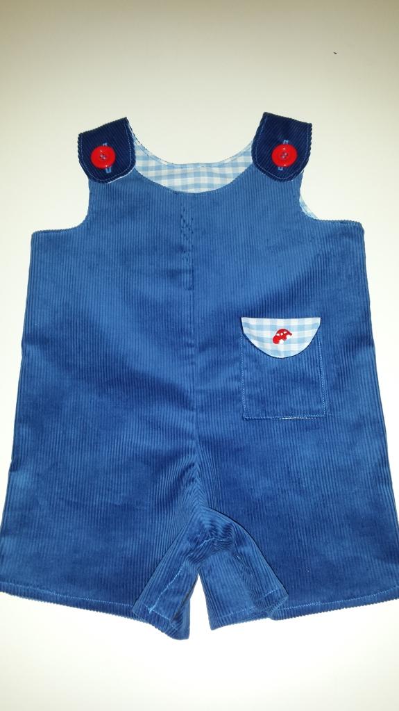Little Dress Kits Car Dungarees
