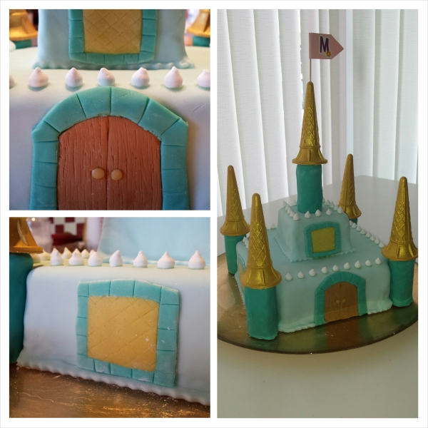 Princess Castle Cake made by me
