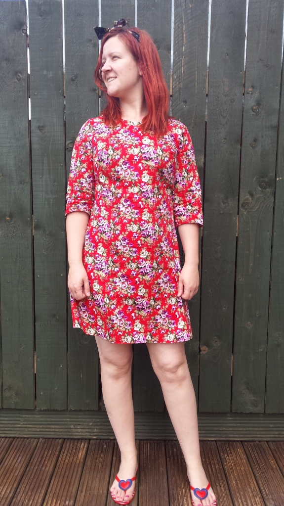 Simple Sew Brigitte dress