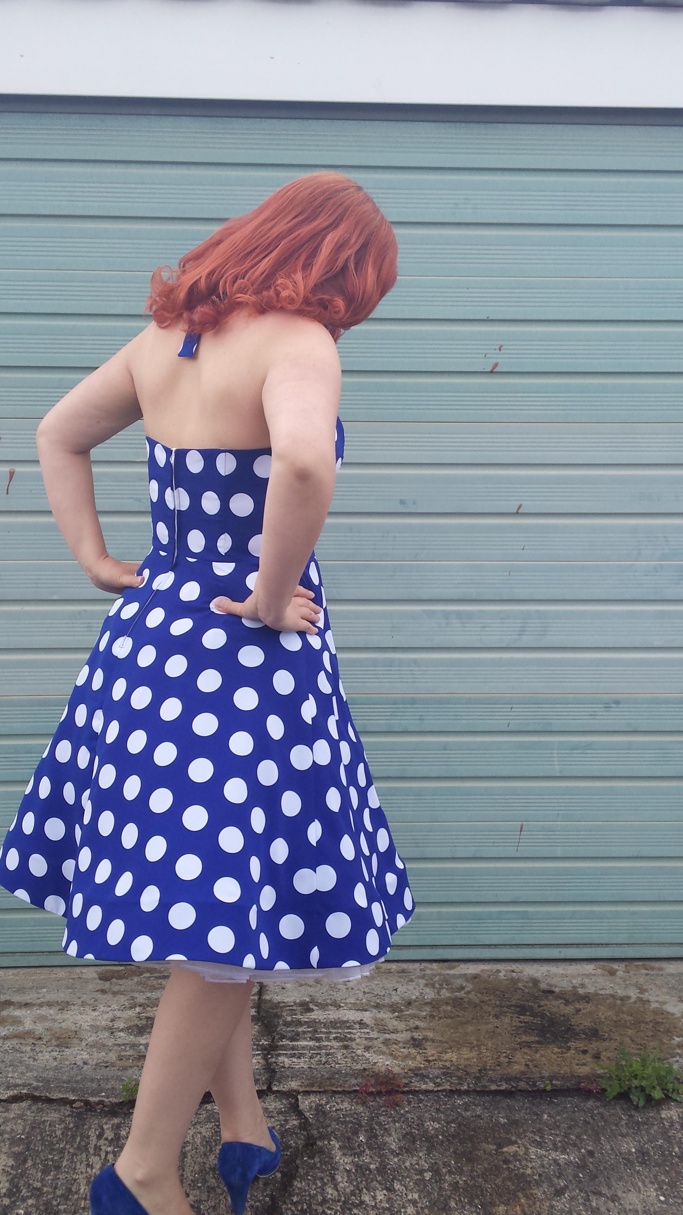 My May Minerva Make – Fifties style halter neck dress | Thread Carefully
