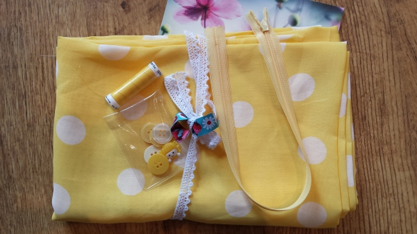 Spring Sewing Swap - my parcel from Annika