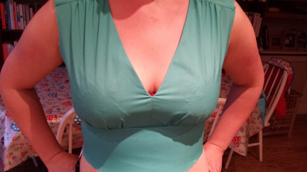 Bodice toile - too tight