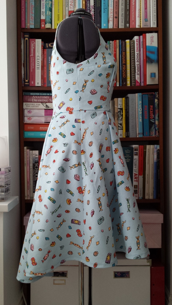 By Hand London Flora dress - side view