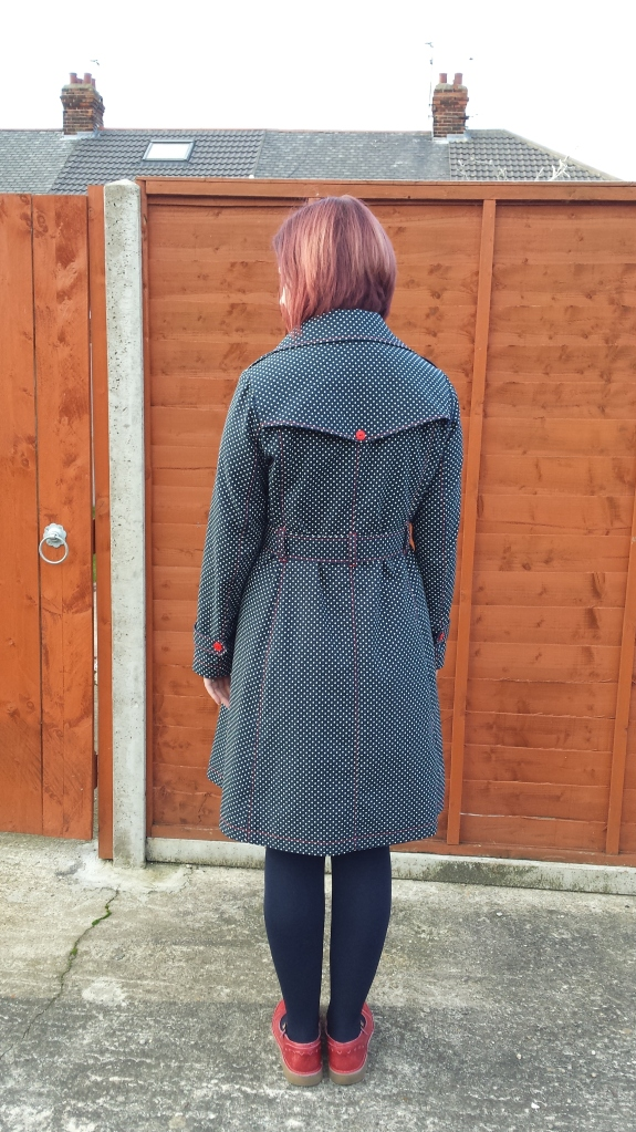 Sewaholic Robson Coat - back view