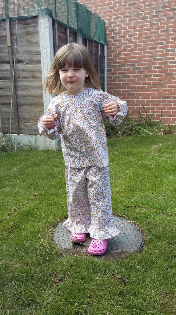 Pyjamas: perfect for......the garden?!?!