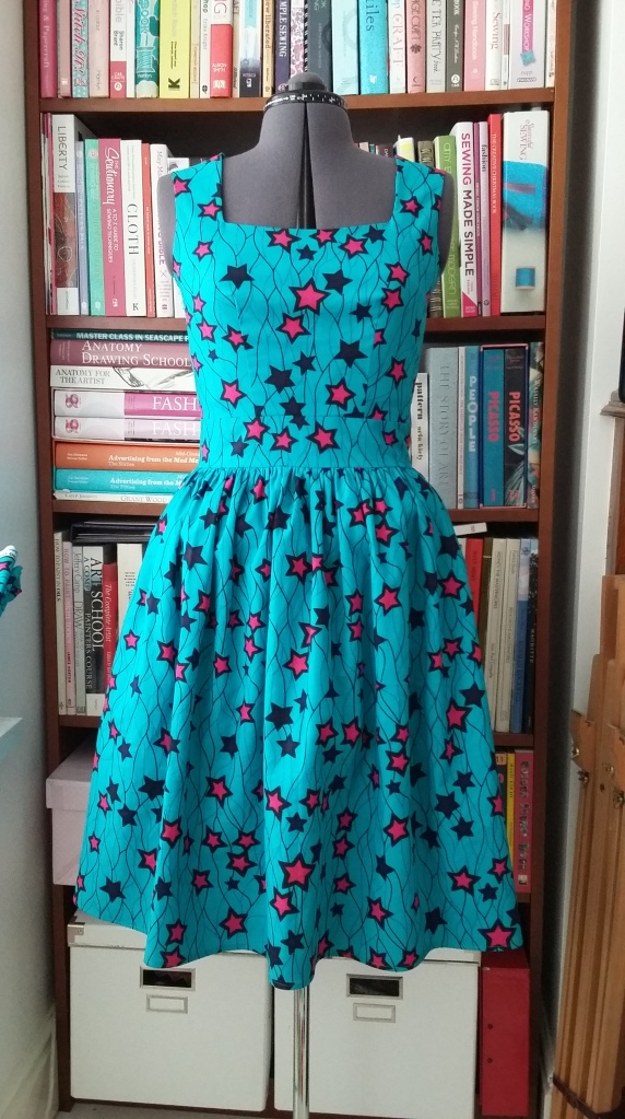 The Gin Festival dress - so called because the first time I wore it was to a Gin Festival.