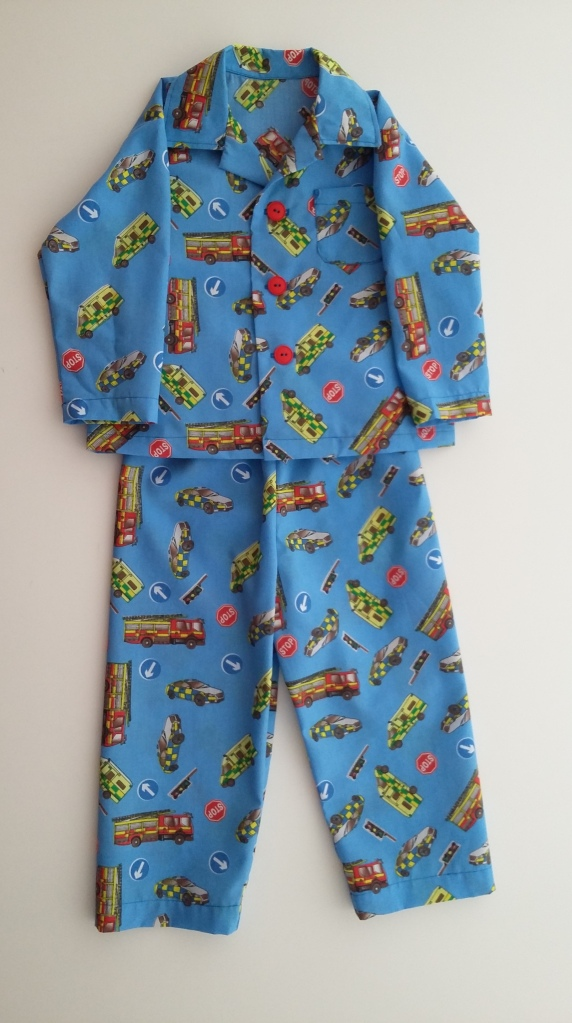 Emergency Vehicles pyjamas