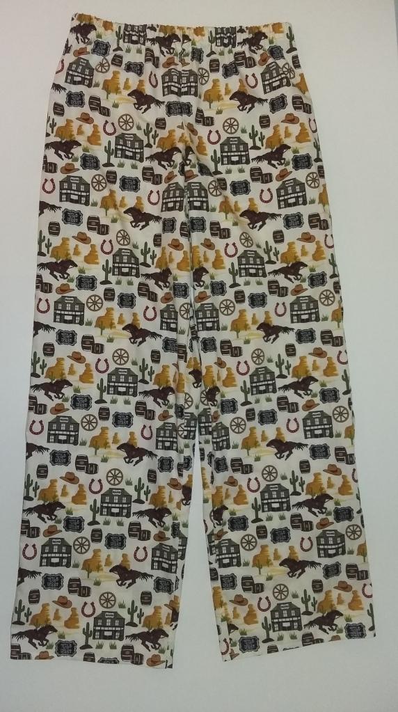 Cowboy pyjama bottoms