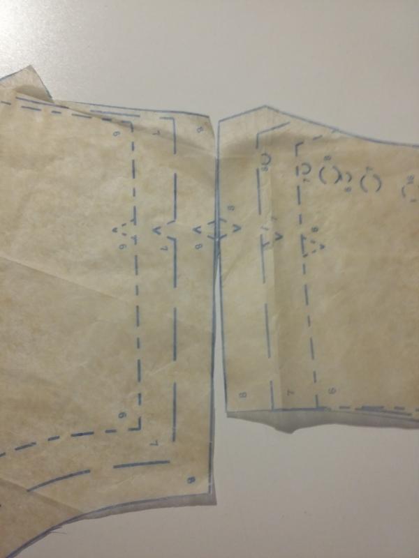 V9142 - pattern drafting error