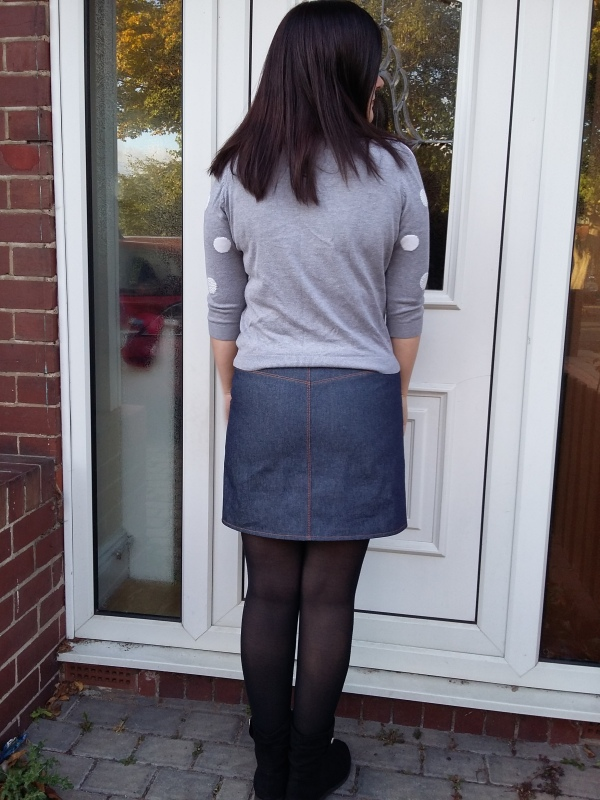 Grainline Moss back view